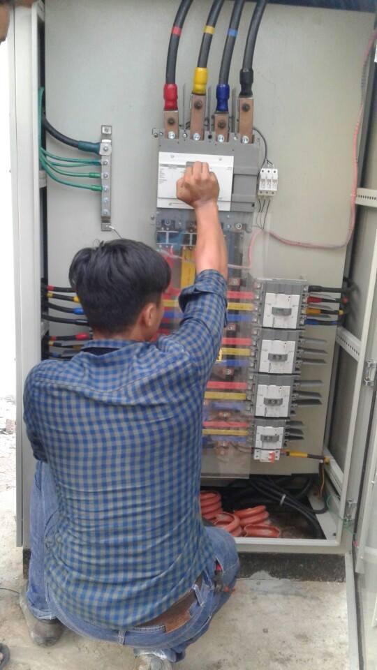 Tủ điện điều khiển chiếu sáng: