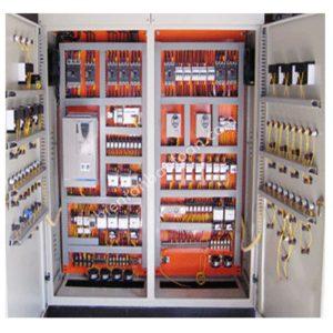 Tủ điện điều khiển PLC- HMI kết hợp Biến Tần