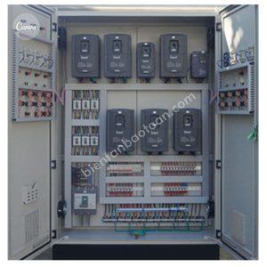 Tủ điều khiển sử dụng biến tần khởi động
