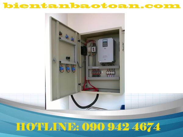 Tủ điều khiển hệ thống Quạt bảo vệ mất pha sử dụng biến tần