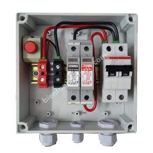 Tủ AC Solar 1 pha 32A – 5kW