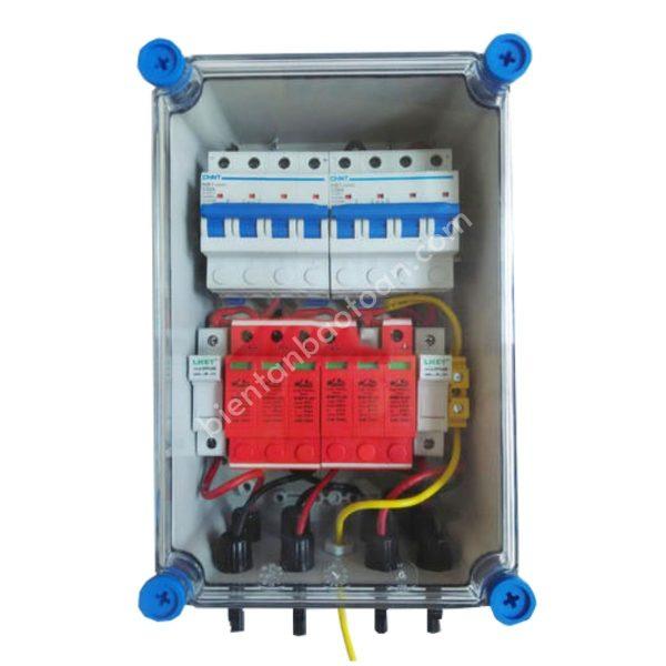Tủ điện DC Solar 1000V-2string-2IN 2OUT