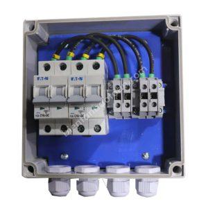 Tủ điện DC Solar (5-15kW) 2string