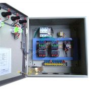 Tủ điện điều khiển bơm rửa pin NLMT