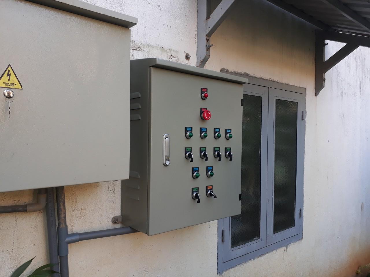 Tủ điện Bơm luân phiên tại Công ty Bảo Toàn