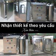 Nhận thiết kế Vỏ tủ điện Inox theo yêu cầu